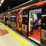 publicidad metro madrid, publicidad tradicional