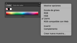 CMYK y RGB
